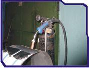 автоматическая установка для сварки рессиверов